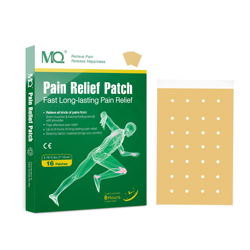 New package fast effect Chinese MQ brand fast back/shoulder/joint pain relief patch